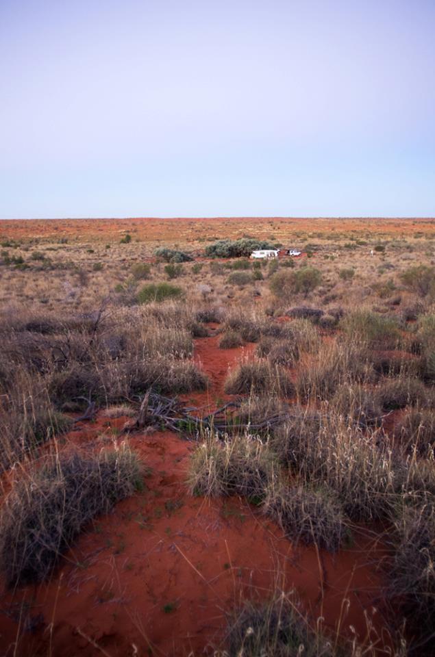 Caravan at main camp. Photo: David Nelson