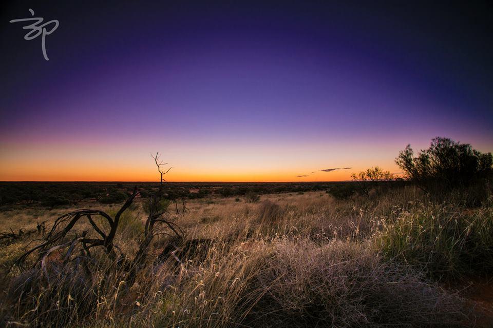 Desert Sunset. Photo: Enyi Guo