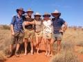 The crew. From left: Jish, Frank, Heather, Eveline, Dave. Photo: David Nelson