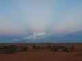 Cumulus catching the light. Photo: David Nelson